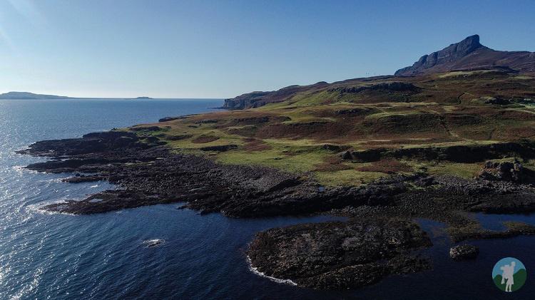 coast isle of eigg