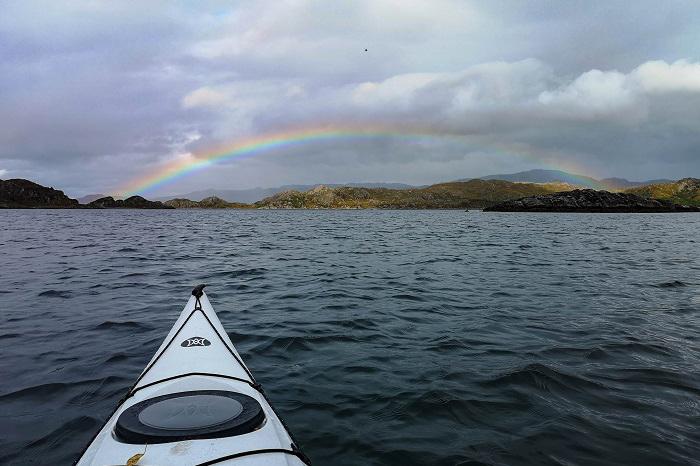 west coast scotland road trip kayaking