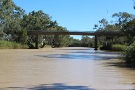 The Bridge over muddy waters