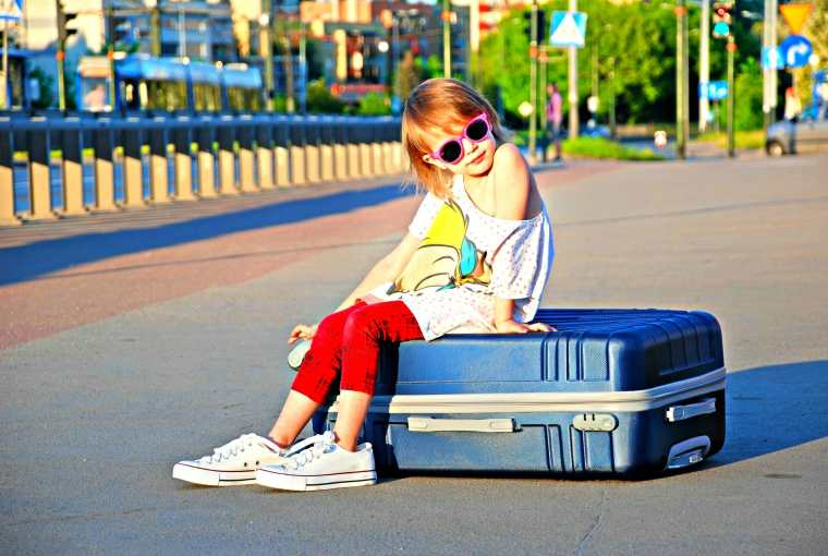5 Tips When Your Child Flies As Unaccompanied Minor Travels with Bibi