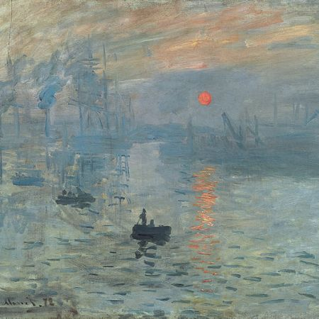 The painting that gave Impressionism its name!