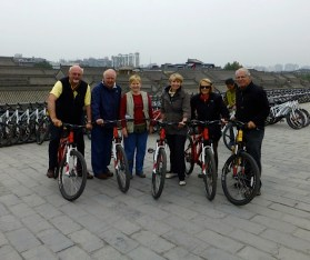 Xi'an, Xian, Bicycle, City Walls