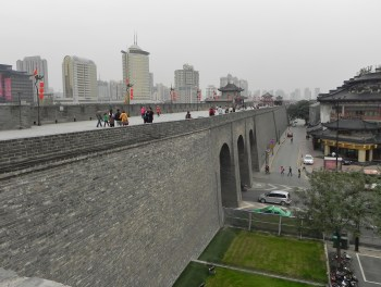Xi'an, Xian, City Walls
