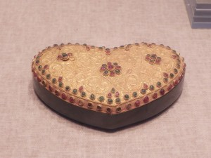 Gold Lidded Box from Treasure Gallery