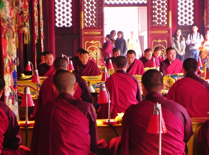 The chants of Buddhist Monks