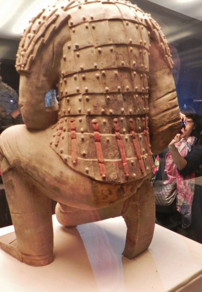 Xian, Terra Cotta Warrior, Kneeling warrior