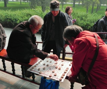 Beijing, Temple of Heaven, Board Games