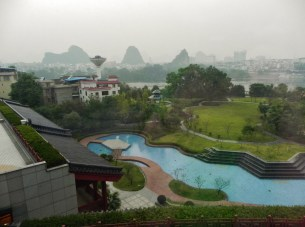Guilin, Shangri-La, View from Room