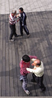 Shanghai, The Bund, Promenade, Martial Arts