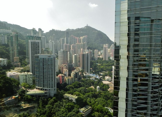 China, Hong Kong, Victoria Peak, Conrad Hilton