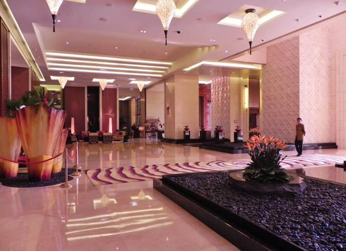 China, Hong Kong, Macau, Galaxy Casino, Banyan Tree, lobby