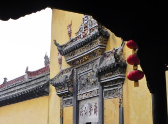 Chongqing, Old Town, Guild Hall, Doorway, Door, Ornate