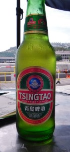 China, Hong Kong, Stanley Harbor, Tsingtao beer, waterfront, beer