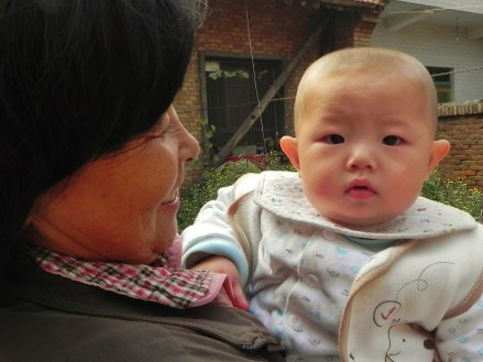 China, Xi'an, Pomegranate, farmer, baby