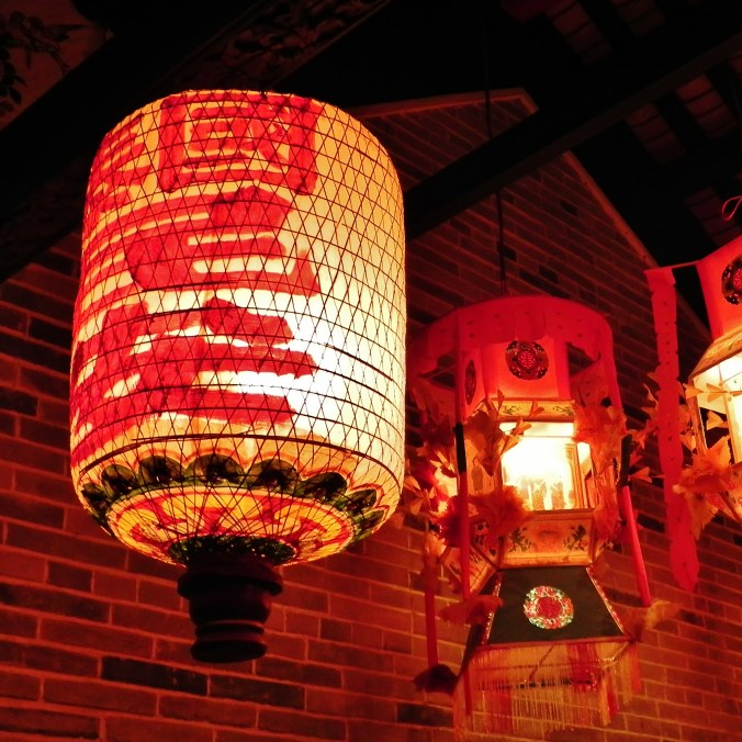 China, Hong Kong, Hong Kong Museum of History, paper lanterns