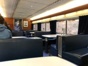 Capitol Limited Sleeper Lounge Car