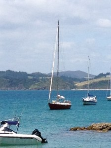 Yachts in the Bay of Islands