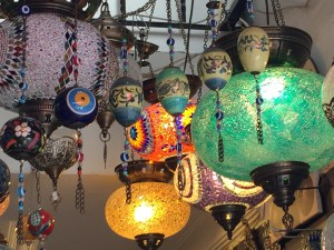 Pretty lamps, Istanbul