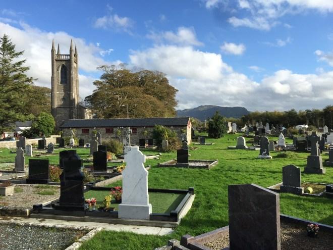 St Columba's Church of Ireland church grounds