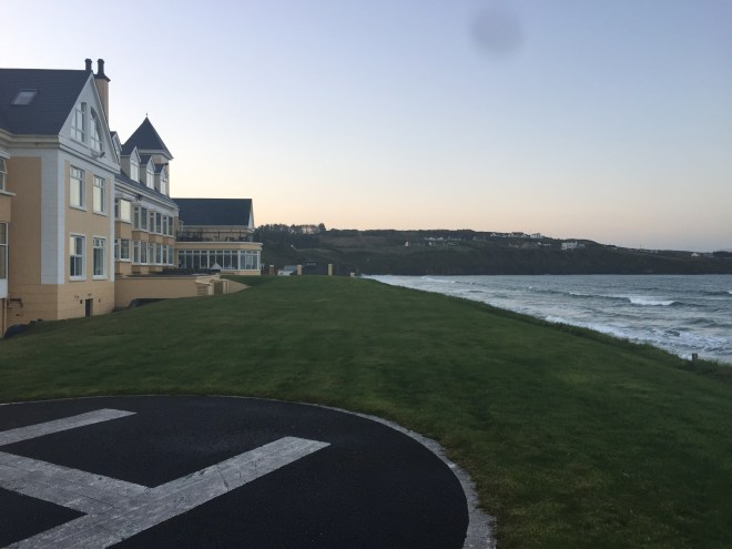 The Sandhouse Hotel on Rossnowlagh beach, County Donegal