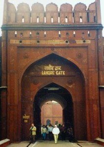 Lahore Gate Red Fort Delhi