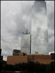 Tall mirrored buildings in Dallas, Texas
