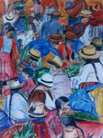 Market Day in Sucre, Bolivia.