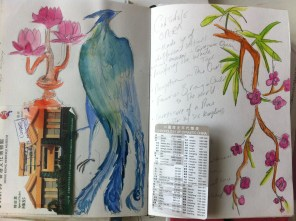 A page from my Hong Kong sketchbook.