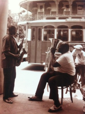 Jazz on the street in the French Quarter, New Orleans