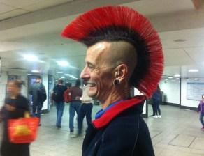 Greg the London Underground Employee, Oxford Circus tube station, London.