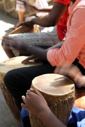 Isamilo Saturday School Drumming lesson