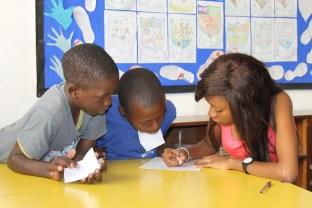 Isamilo Saturday School English lesson