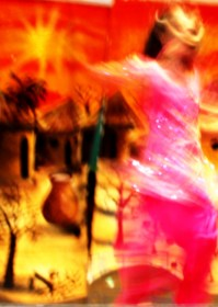 Bollywood dancer in motion 3