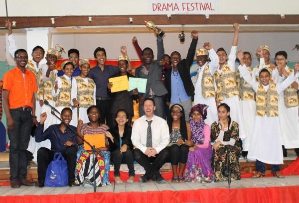 Winners of the Isamilo Drama Festival 2015.