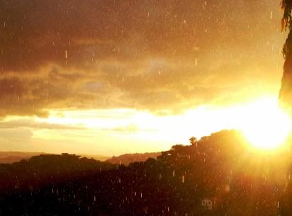 Sunshine and showers over Mwanza 1