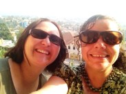 Lucy and Ali in Kigali