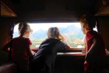 Watching the world go by - On the train from Mwanza to Dar Es Salaam, Tanzania.