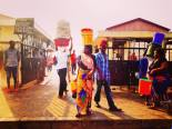 Early morning outside Kivukoni Fish Market in Dar Es Salaam, Tanzania