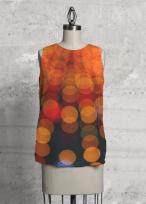 Orange Lights top design for Vida