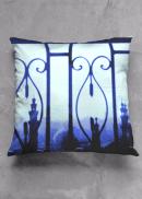 Cairo Cityscape cushion design for Vida