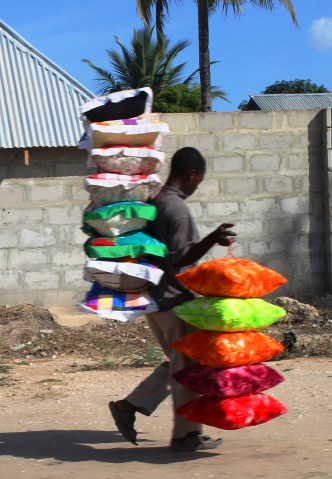 Carrying Cushions in Kigamboni, Dar Es Salaam