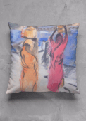 Pushkah Lake cushion design for Vida