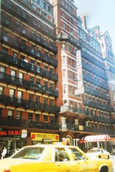 """The Chelsea Hotel, where Kerouac allegedly wrote """"On the Road"""" in New York"""