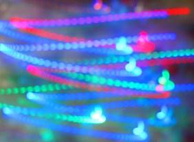 Blurred Christmas Lights 8