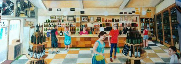 Magnum's wine bar Wood Street, Old Town Swindon by Hannah Dosanjh