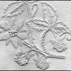 Whitework design by Elizabeth Almond