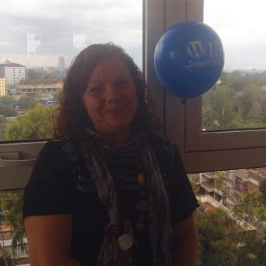 Ali speaking at the WordPress 15th Anniversary Conference in Nairobi