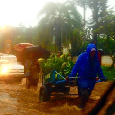 Nairobi in the rain