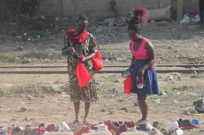 Shoe shopping in Nairobi