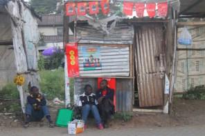 Street scene in Nairobi